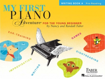 My First Piano Adventure: Writing Book A: Pre-Reading