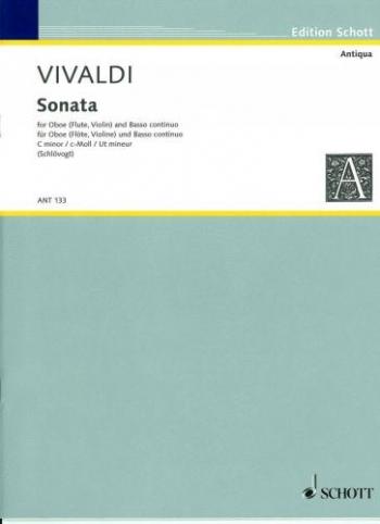 Concerto: C Minor: Rv53: Oboe & Piano