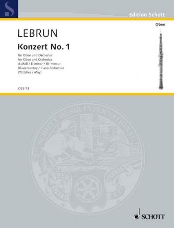 Concerto In D Minor: Oboe & Piano (Schott)