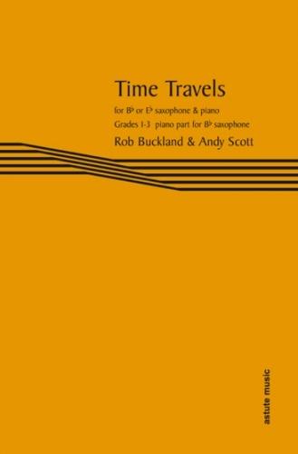 Piano Accompaniment Bb For Tenor Sax Sax Part (Buckland & Scott) (Astute)