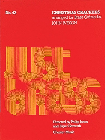 Iveson: Christmas Crackers (Just Brass No.43) Brass Ensemble