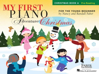Faber Piano Adventures: My First Piano Adventure: Christmas Book A: Pre-Reading