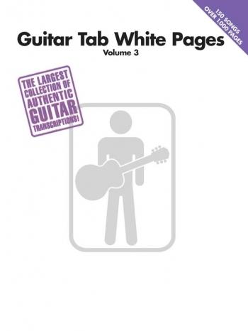 White Pages: Vol 3: Guitar & Guitar Tab