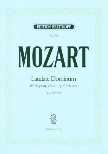 Laudate Dominum Kv339: Vocal SATB