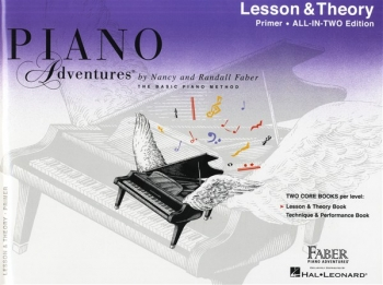 Piano Adventures: Lesson & Theory Book: All-In-Two Primer Level
