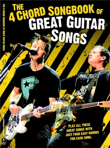 4 Chord Songbook: Great Guitar Songs. Words & Chords