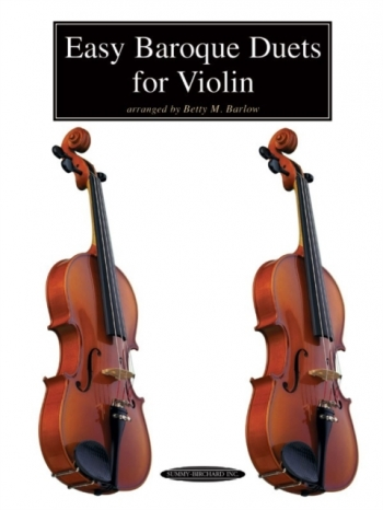 Easy Baroque Duets For Violin: Violin Duet