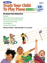 Teach Your Child To Play Piano: Book 2: Book & Cd