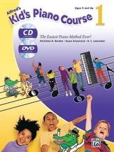 Alfred Kids Piano Course: Book 1: Book & CD & DVD