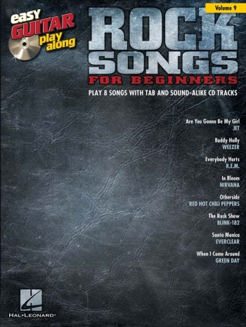 Easy Guitar Playalong: Vol 9: Rock Songs For Beginners