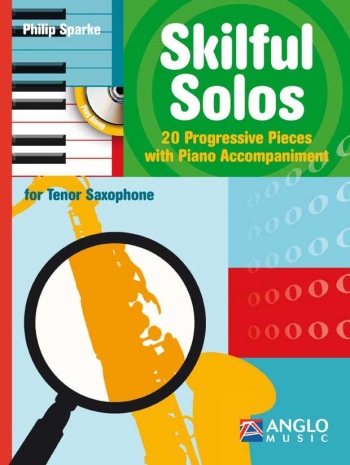 Skilful Solos: Tenor Sax & Piano Book & CD (sparke)