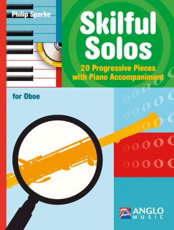 Skilful Solos: Oboe & Piano Book & Cd (sparke)