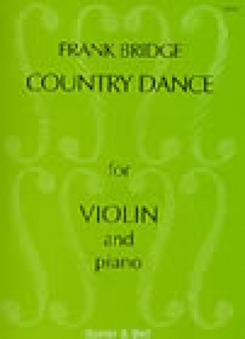 Country Dance: From Four Short Pieces For Violin & Piano (Stainer & bell)