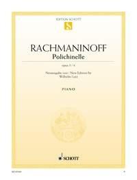 Polichinelle, Op. 3/4: Piano  (Schott)