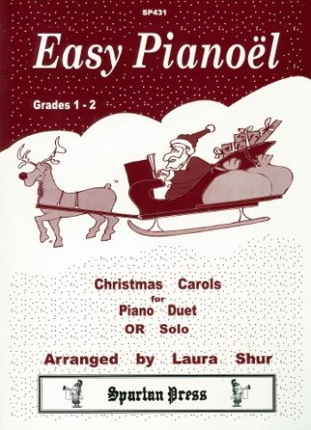 Easy Pianoel: Christmas Carols For Piano Or Piano Duet (Grade 1-2)