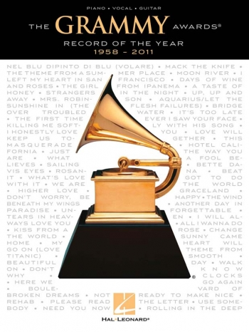 Grammy Awards: Record Of The Year: 1958-2011: Piano Vocal Guitar