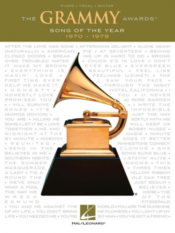 Grammy Awards: Song Of The Year: 1970-1979: Piano Vocal Guitar