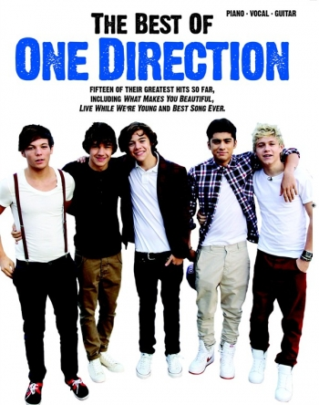 Best Of One Direction: Piano Vocal Guitar