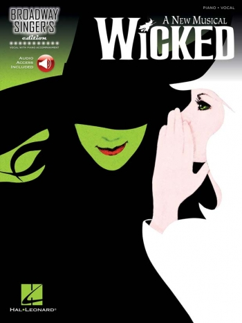 Broadway Singer's Edition: Wicked: Piano & Vocal Book & CD