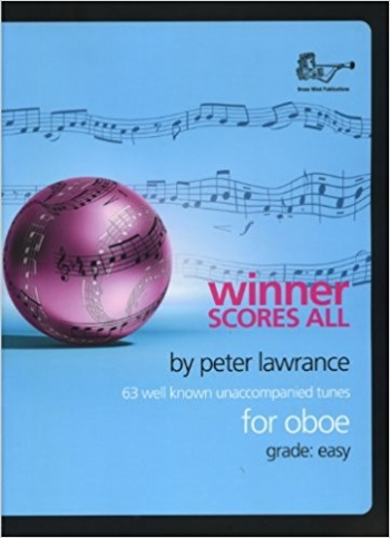 Winner Scores All: Oboe: Book & Cd  (lawrance)
