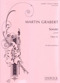 Sonata In G Minor Op. 52: Oboe & Piano