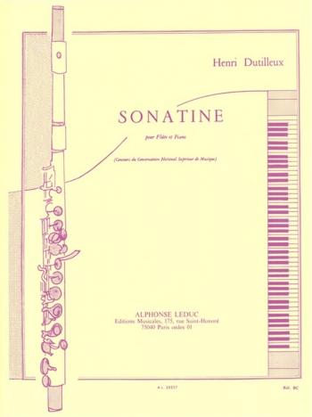 Sonatine: Flute & Piano (Leduc)