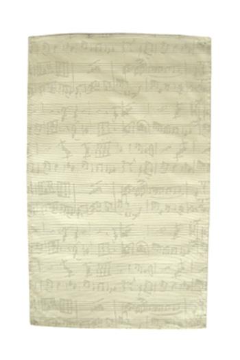 Tea Towel: Manuscript (Beige)