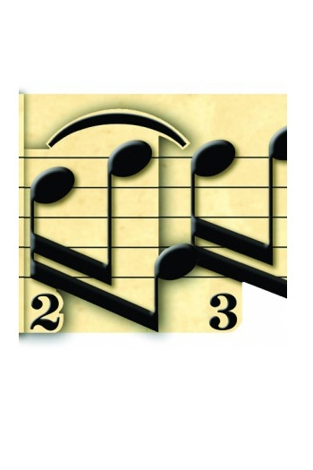 3D Card - Prelude Music Notes