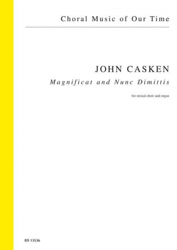 Casken: Magnificat And Nunc Dimittis: Vocal: SATB And Organ