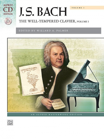 Well-Tempered Clavier Vol.1: Book & Cd: Piano (Alfred)