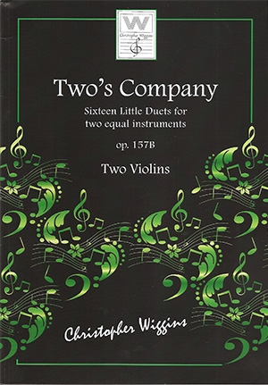 Two's Company: 16 Little Duets: Op157B: 2 Violins