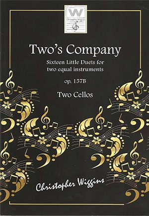 Two's Company: 16 Little Duets: Op157B: 2 Cellos