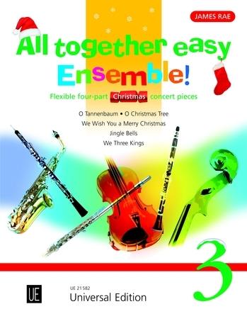 All Together Easy Ensemble Christmas: Vol 3: Flexible 4 Part Concert Pieces: Sc&pts