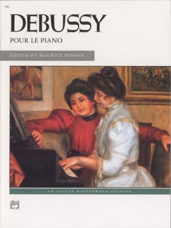 Pour Le Piano: Piano Solo (Alfred)