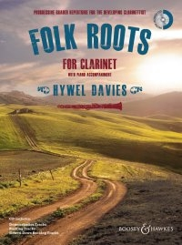 Folk Roots For Clarinet: Book & Cd