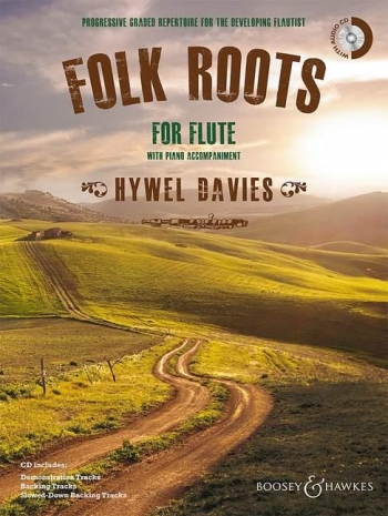 Folk Roots For Flute: Book & Cd
