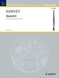 Quartet: Performance Score: 3 Clarinets And Bass Clarinet