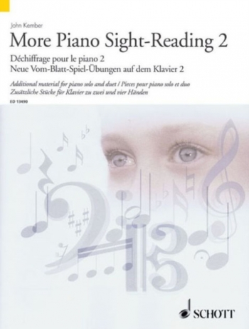 More Sight-Reading Book 2: Piano (Kember)