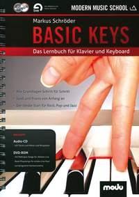 Modern Music School: Basic Keys: Piano & Keyboard Textbook