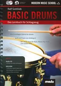 Modern Music School: Basic Drums: Drums Textbook