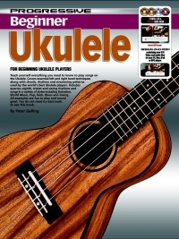 Progressive Beginner Ukulele Method Book Online Audio (Gelling)