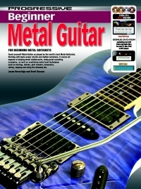 Progressive Beginner Metal Guitar: Book & 2 DVD And Cd