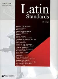 Latin Standards 25 Songs Piano & Vocals