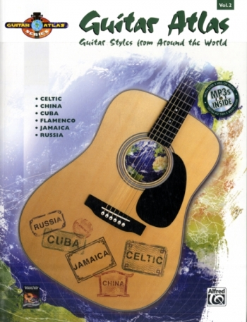 Guitar Atlas Complete Vol 2: Drum Styles From Around The World: Book & Cd