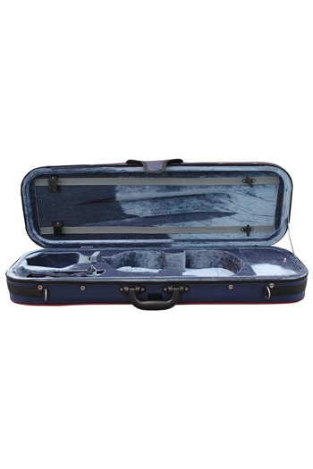 Hidersine 4/4 Blue Oblong Violin Case
