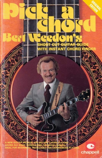 Bert Weedons Play In A Day: Guide To Modern Pick A Chord Guitar Tab