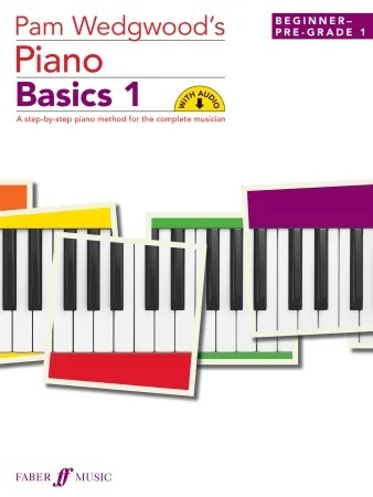 Pam Wedgwood's Piano Basics 1  Book & CD