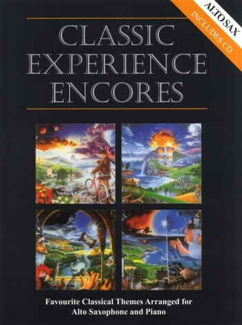 Classic Experience Encores: Alto Saxophone & Piano Book & Cd