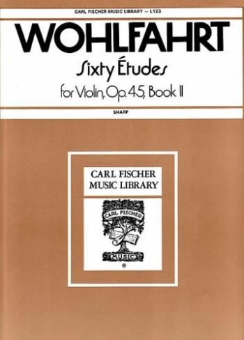 60 Etudes: Vol 2: Violin  (Carl Fischer)