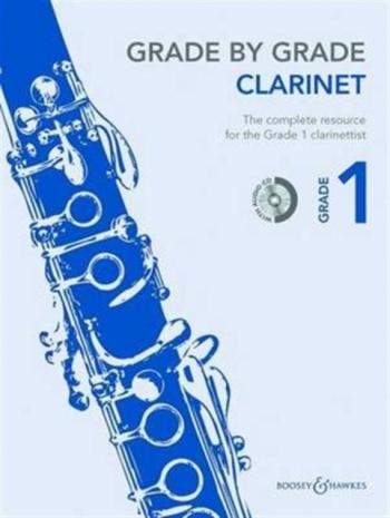 Grade By Grade Clarinet: Grade 1: Book & Cd